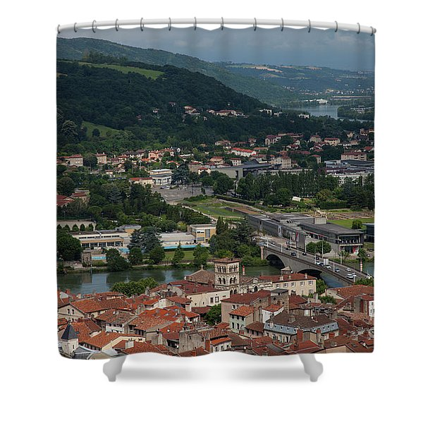 Vienne, France Shower Curtain