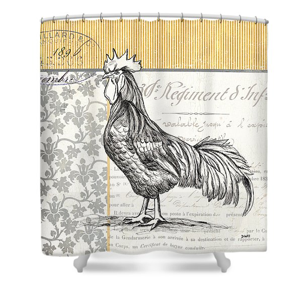 Vintage Farm 1 Shower Curtain
