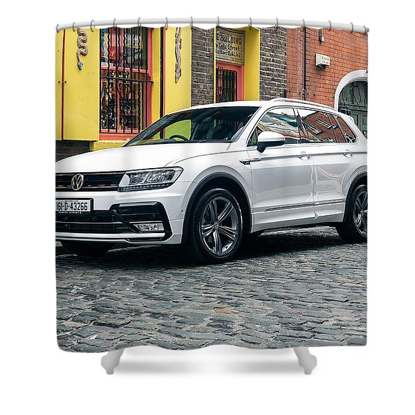 Volkswagen Tiguan Shower Curtain