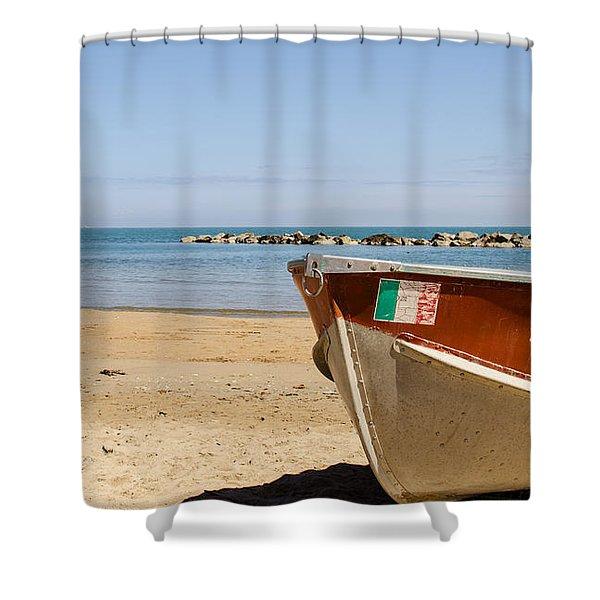 Waiting Summer Shower Curtain