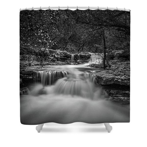 Waterfall In Austin Texas Shower Curtain