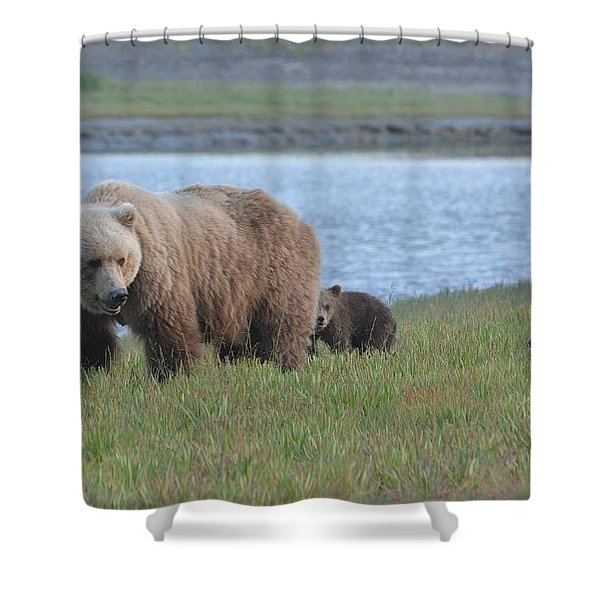 We Are Family 2 Shower Curtain