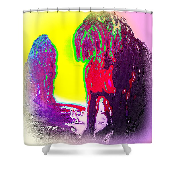 We Are Family But We Don't Talk Anymore  Shower Curtain
