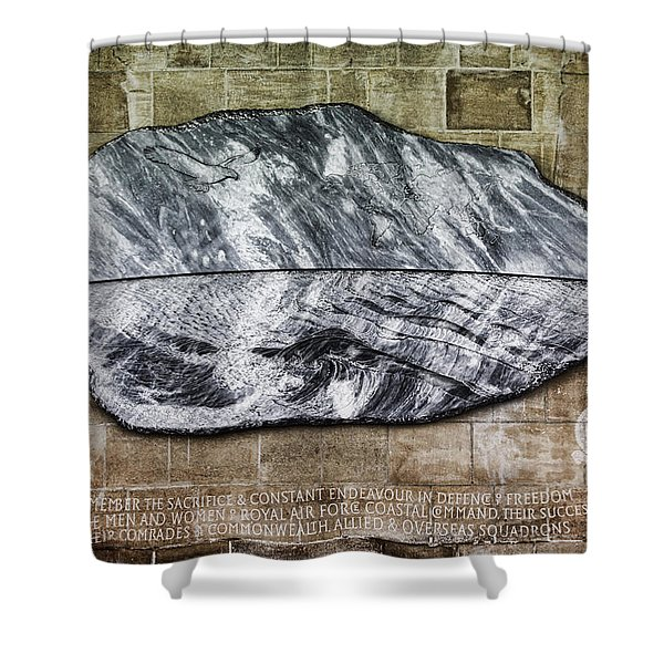Westminster Military Memorial Shower Curtain