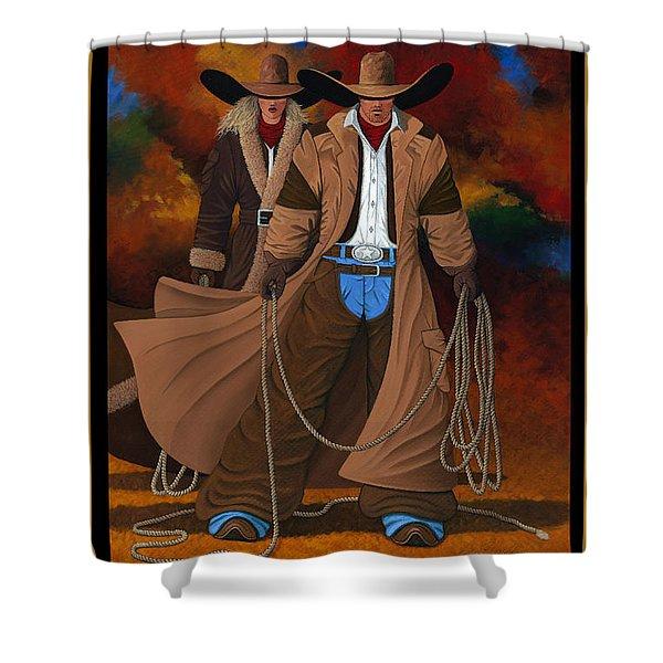 Wild West Days Poster/print  Shower Curtain