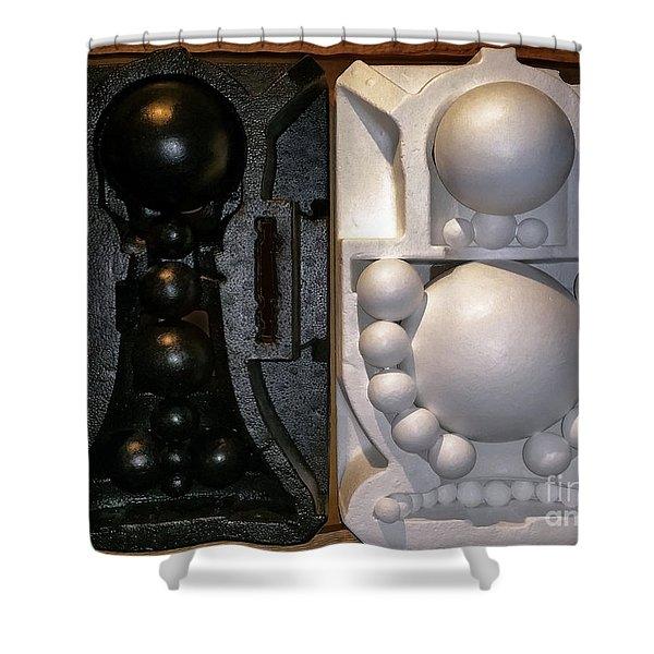 Willendorf Wedding Shower Curtain