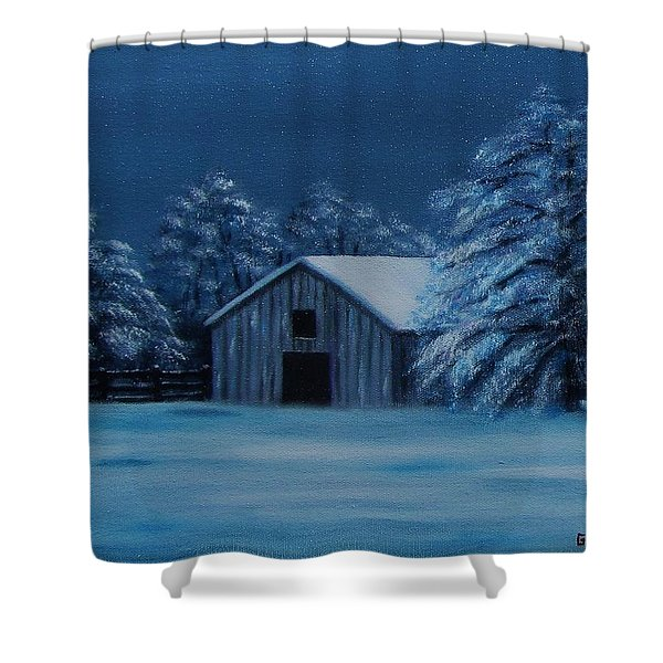 Windburg Barn 2 Shower Curtain
