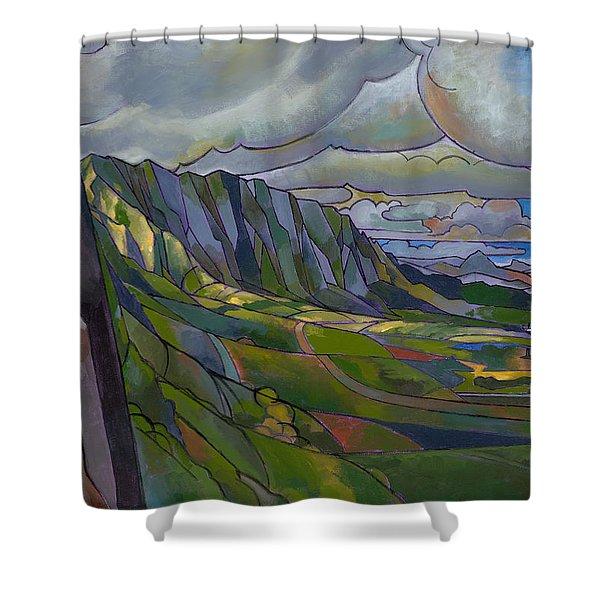 Windward Passage Shower Curtain