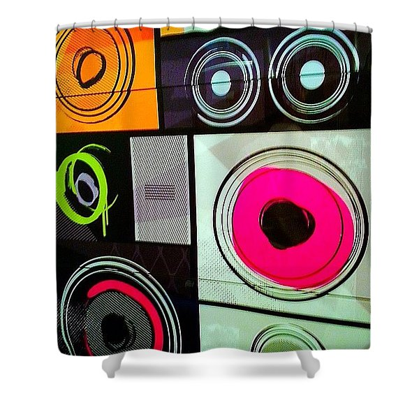 Wishing You #sweet #colorful #dreams Shower Curtain