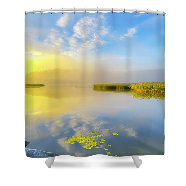 Wonderful Morning Shower Curtain