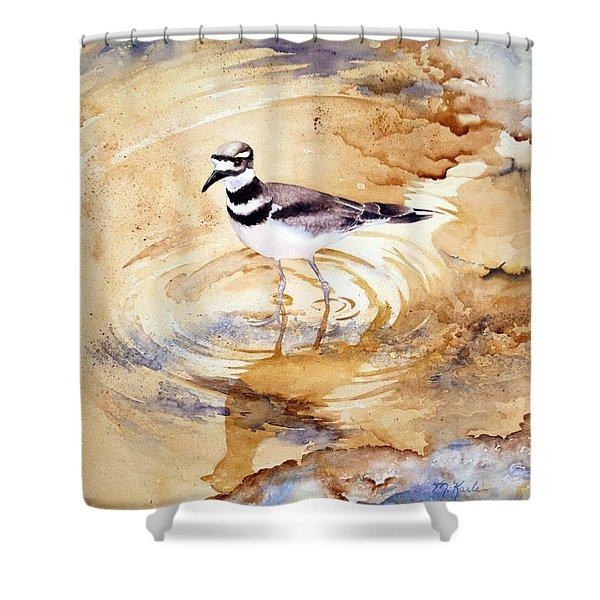 Yellowstone Killdeer Shower Curtain