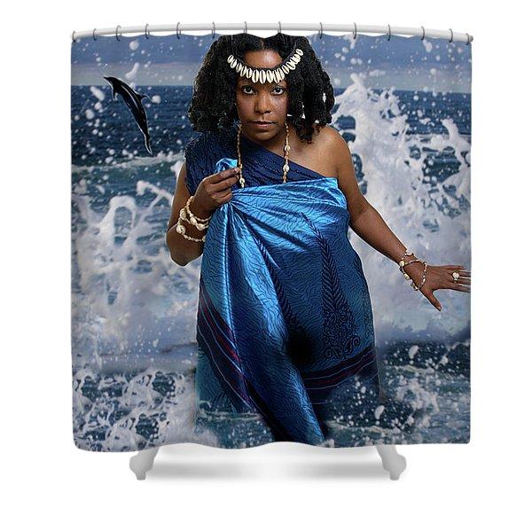 Yemaya Shower Curtain