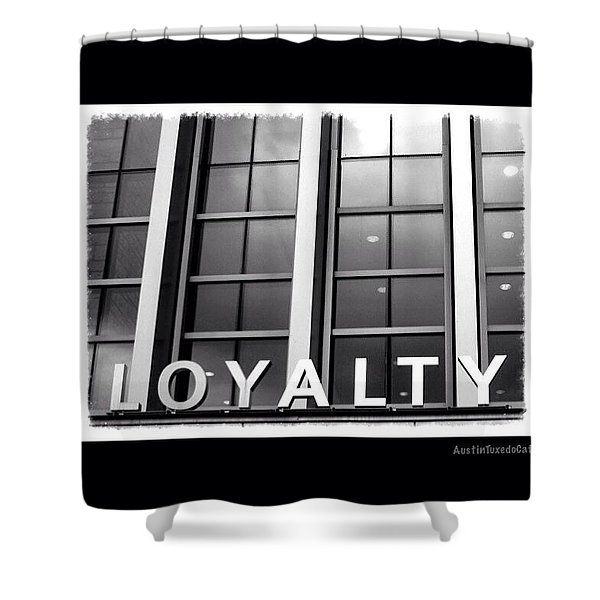 Yes, #loyalty. That Is Why I Own A Dog Shower Curtain
