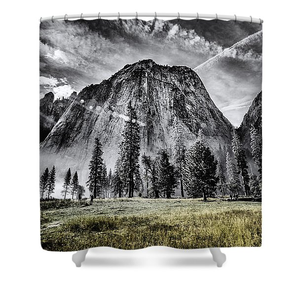 Yosemite Dawn Shower Curtain