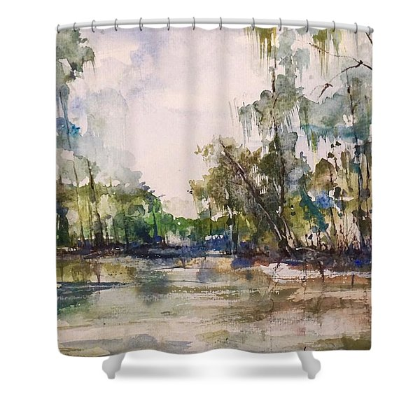 You On The Bayou Shower Curtain