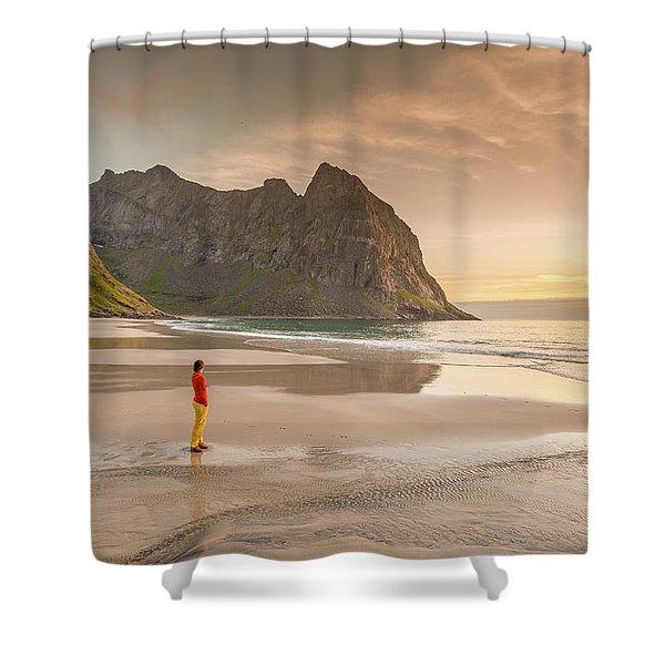 Your Own Beach Shower Curtain