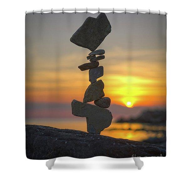 Zen. Shower Curtain