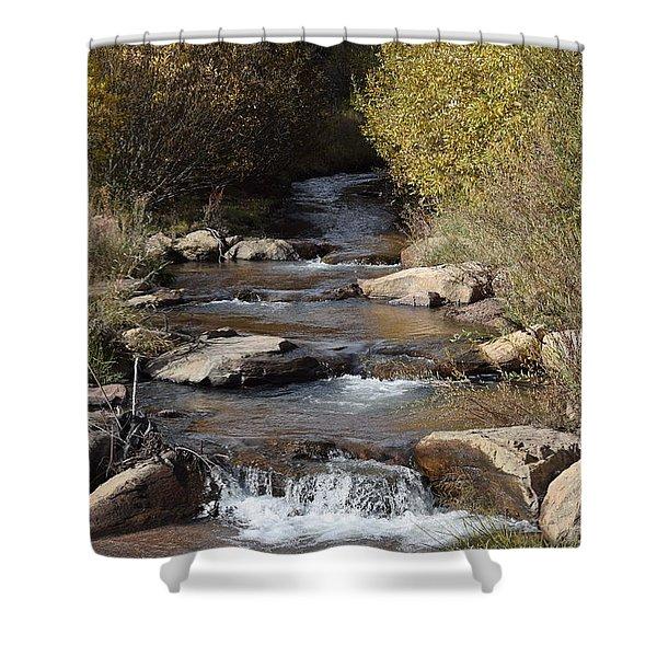 Waterfall Westcliffe Co Shower Curtain