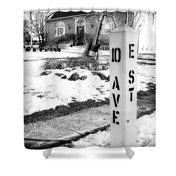 10 Ave And E St Belmar New Jersey Shower Curtain