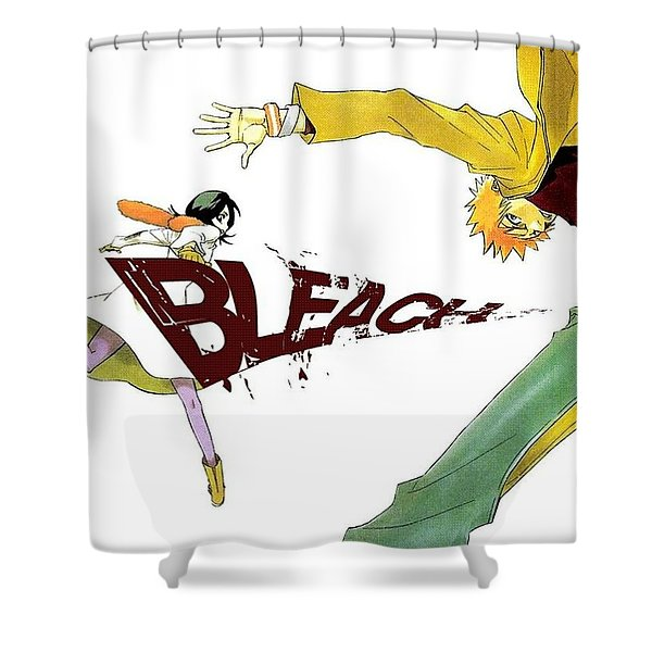 Bleach Shower Curtain