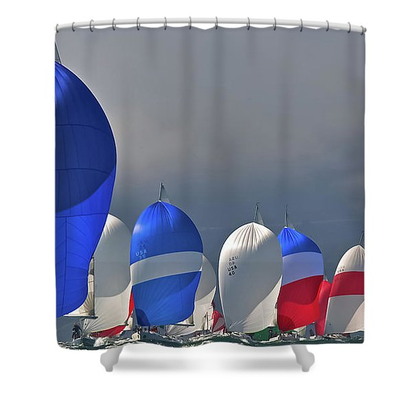 September Colors Shower Curtain