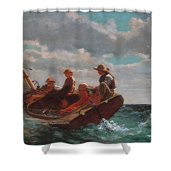 Breezing Up Shower Curtain