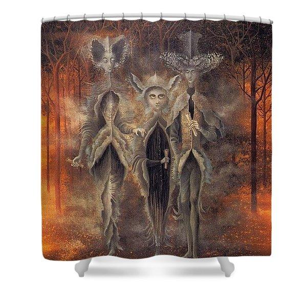 11545 Remedios Varo Shower Curtain