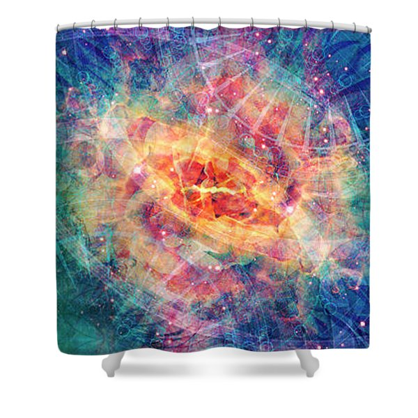 11th Hour Shower Curtain