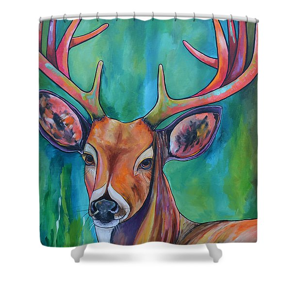 12 Points Shower Curtain