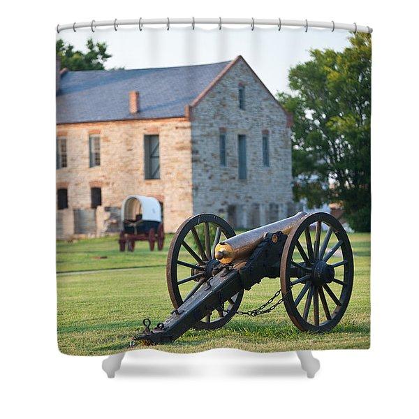 12-pounder Napoleon Shower Curtain