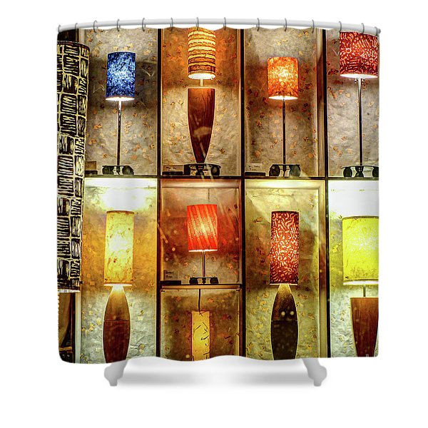 1221b Lincoln St. Shower Curtain
