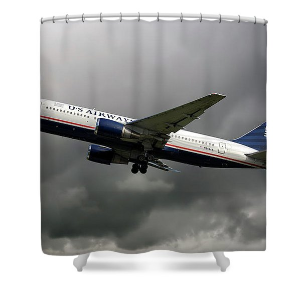 American Airlines Boeing 767-200 Shower Curtain