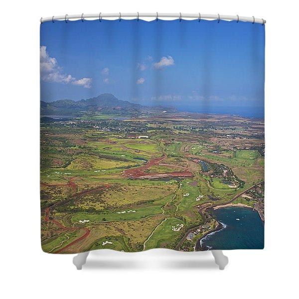 Kauai Colors Shower Curtain