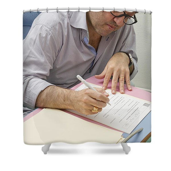 Multiple Sclerosis, Consultation Shower Curtain