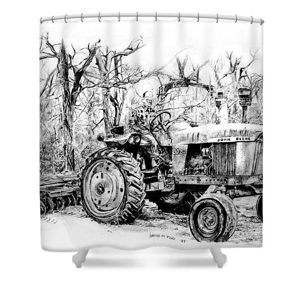 John Deere 3020 Shower Curtain