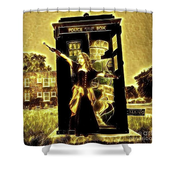 13th Doctor Shower Curtain