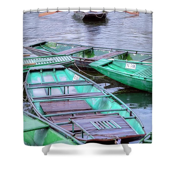 Ninh Binh - Vietnam Shower Curtain
