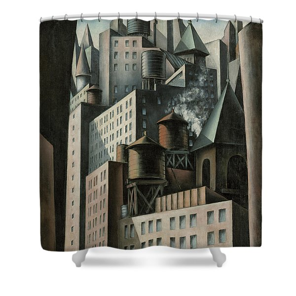 14th Street New York City Shower Curtain