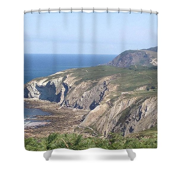 15km Hike In The Middle Of The Day In Shower Curtain
