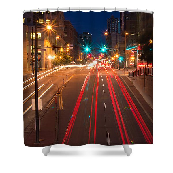 15th Street Shower Curtain