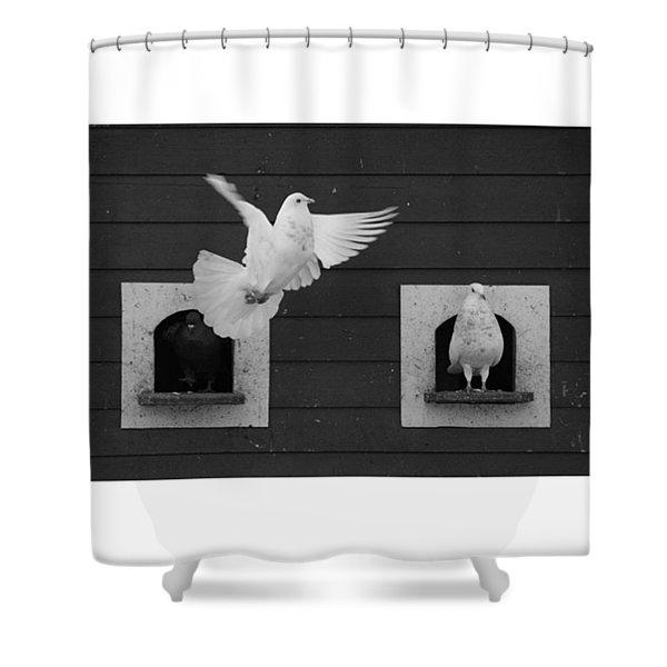 Instagram Photo Shower Curtain