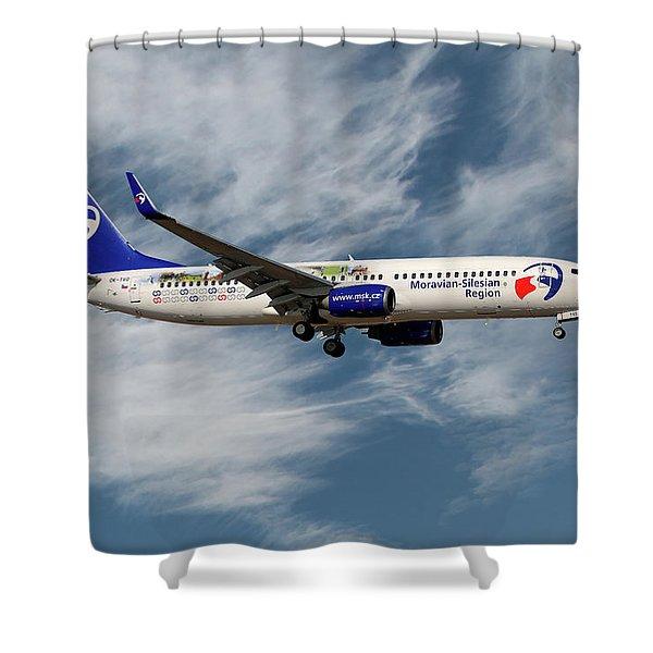 Travel Service Boeing 737-8cx Shower Curtain