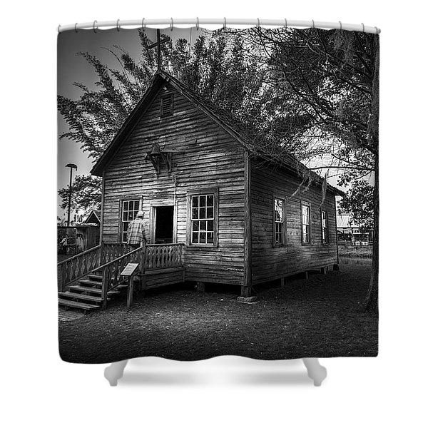 1800's Florida Church Shower Curtain