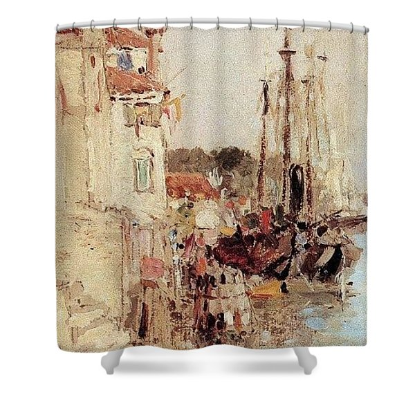1890- Vasily Polenov Shower Curtain