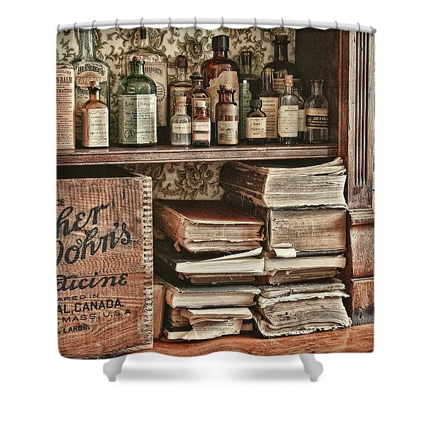 18th Century Pharmacy Shower Curtain