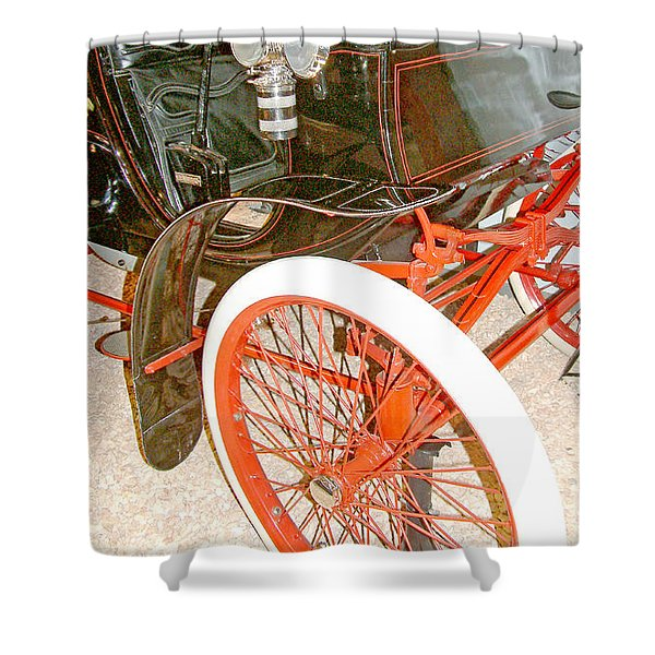1900 Packard Runabout National Automobile Museum Reno Nevada Shower Curtain