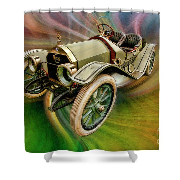 1912 Moon 30 Raceabout Shower Curtain