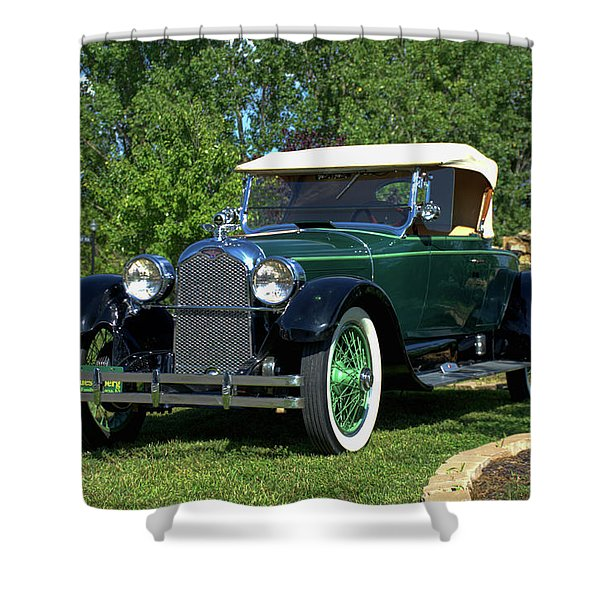 1922 Duesenberg Model A Shower Curtain