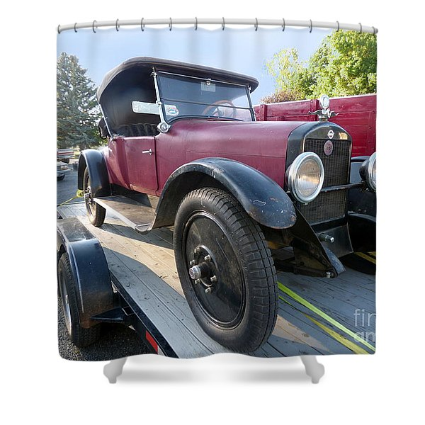 Shower Curtain featuring the photograph 1922 Studebaker by Charles Robinson