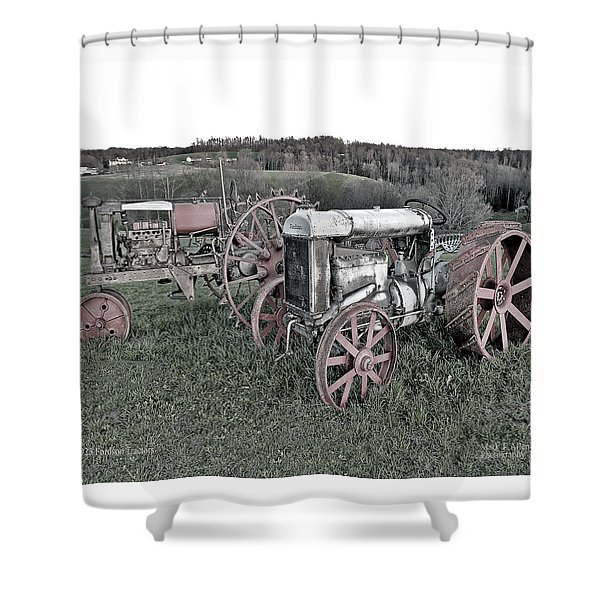 1923 Fordson Tractors Shower Curtain